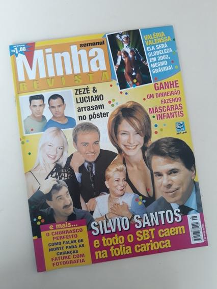 Minha Revista 48 Silvio Santos Valéria Valenssa Zezé Di Cama