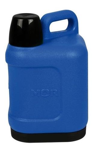 Botella Termica Conservadora Mor 5 Litros Frio Calor Azul
