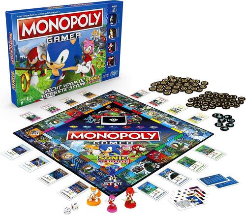 Monopoly Gamer Sonic The Hedgehog Edition Juego De Mesa Para