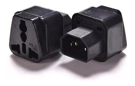 Adaptador C14 A Zócalo Universal Ups Cable Poder