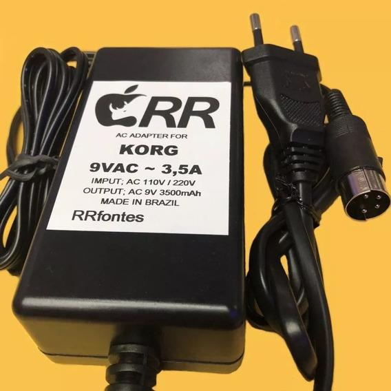 Fonte Ac 9v Para Korg Karma Tr Le N1r N1 N5 N5ex Km2 Mixer