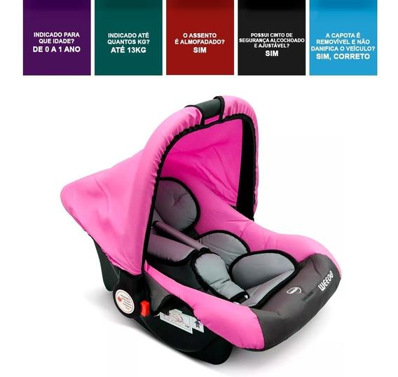 Bebê Conforto 0 A 13kg Weego Menino Universal Menina