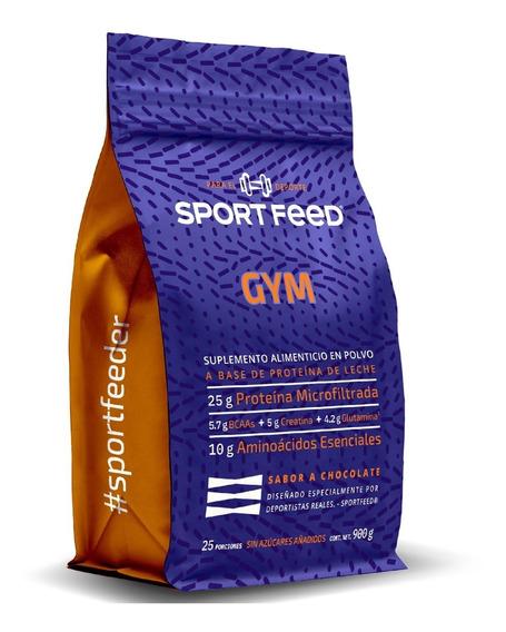 Sportfeed Gym + Pesas Proteína Whey Bcaa Creatina Glutamina