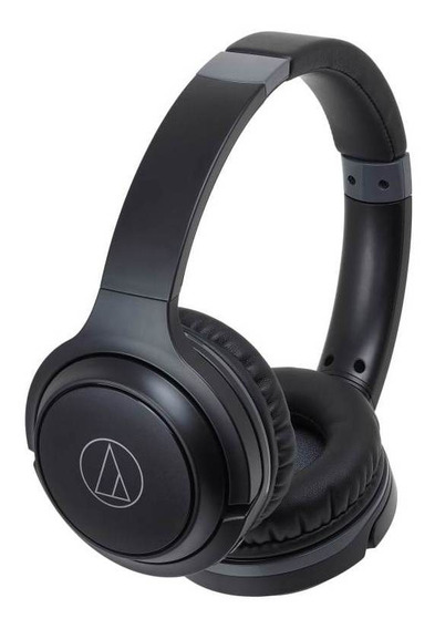 Fone De Ouvido Sem Fio Bluetooth Audio-technica Ath-s200btbk