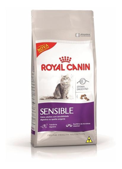 Ração Royal Canin Sensible Gatos Adultos 7,5 Kg