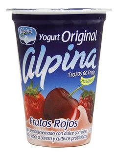Yogurt Original Alpina Frutos Rojos X 200ml