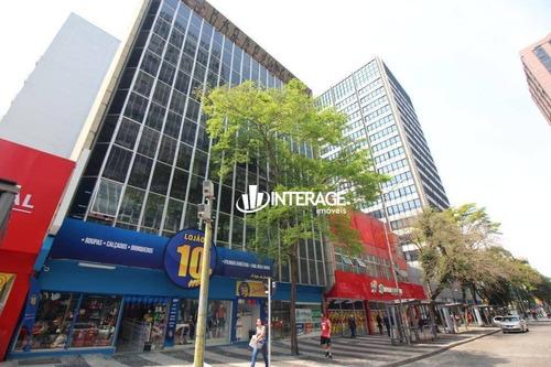 Imagem 1 de 23 de Conjunto Para Alugar, 690 M² Por R$ 30.000,00/mês - Centro - Curitiba/pr - Cj0006