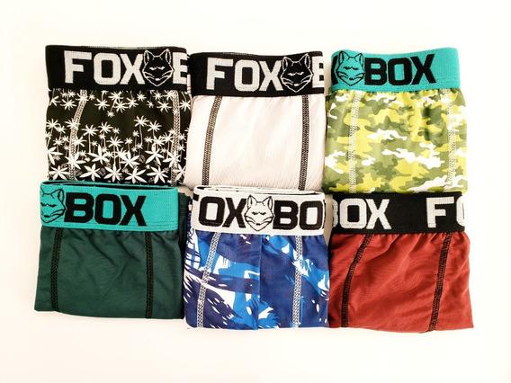 Kit 30 Cuecas Boxer Fox Box Microfibra Atacado Promoção!