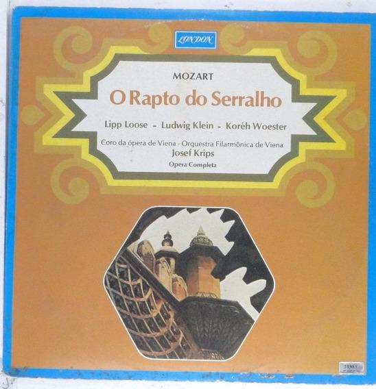 Lp Muzart - O Rapto Do Serralho - Disco Raro - Ad001