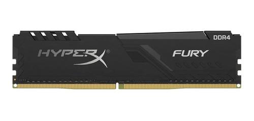 Imagem 1 de 5 de Memória Hyperx Fury 16gb 3000mhz Black Hx430c16fb4/16
