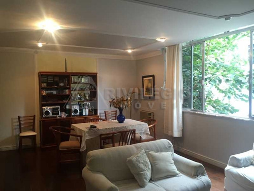 Apartamento À Venda, 3 Quartos, 2 Suítes, 1 Vaga, Botafogo - Rio De Janeiro/rj - 10099