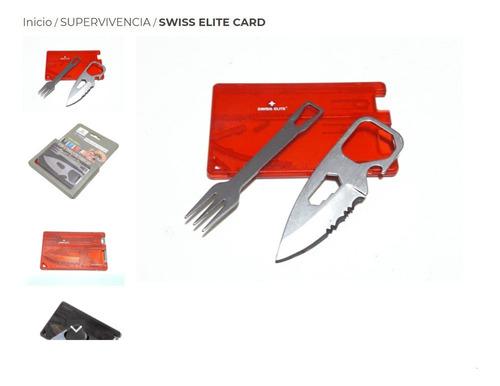 Imagen 1 de 1 de Swiss Elite Card