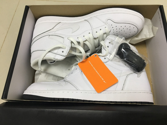 Nike Air Jordan 1 Retro High Og Tam 45 Branco Pronta Entrega