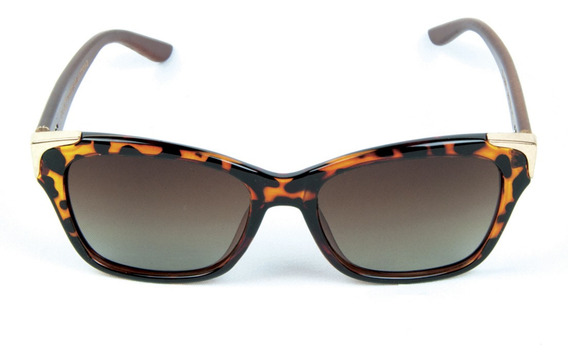 Óculos De Sol Polarizado Zabo Barcelona Tartaruga Marrom
