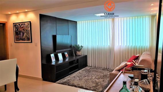 Apartamento A Venda No Bairro Castelo Em Belo Horizonte - - 22059-1