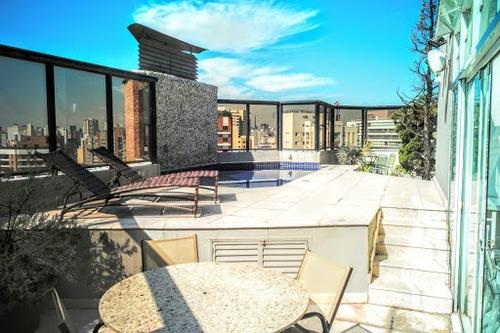 Cobertura Com 4 Dormitórios À Venda, 407 M² Por R$ 5.500.000,00 - Perdizes - São Paulo/sp - Co0976