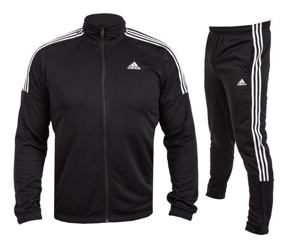 Conjunto De Pants adidas Team Sports Dv2447 Negro/blanco