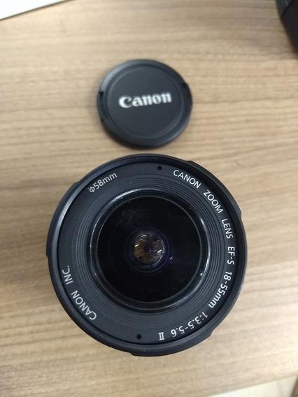 Lente Canon Zoom Lens Ef-s 18-55mm 1:3.5-56 Ii