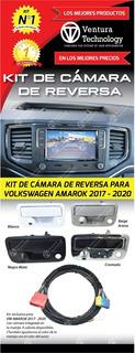 Camara De Reversa Con Manijapara Volkswagen Amarok 2017-2021