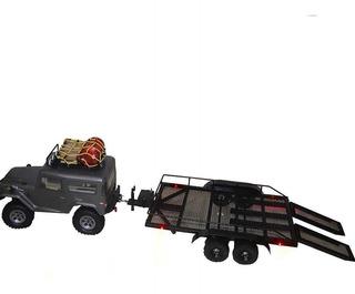 Guanici RC Car Tow Hook Accesorios de Gancho de Remolque de Juguete Gancho de Remolque de simulaci/ón para SCX 10 Traxxas 90046 TRX4 Crawler Juguetes para ni/ños RC Piezas de autom/óviles