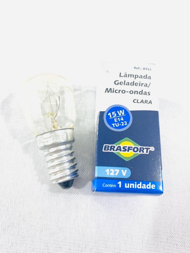 Lampada Do Forno Fogão Electrolux E14 127v 15w Brasfort 187420