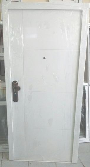 Puerta Chapa Exterior Seguridad Frente Llave Computada