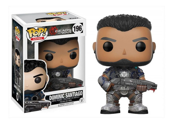 Boneco Funko Pop Gears Of War - Dominic Santiago 196