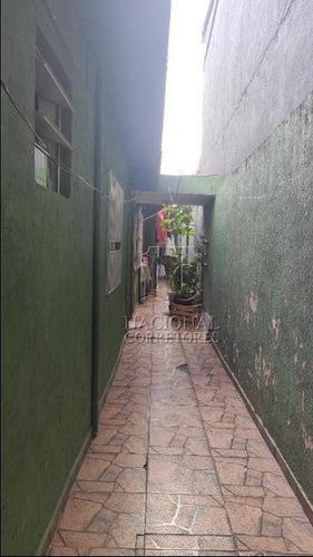 Casa Com 3 Dormitórios À Venda, 111 M² Por R$ 330.000,00 - Jardim Santo Alberto - Santo André/sp - Ca3131