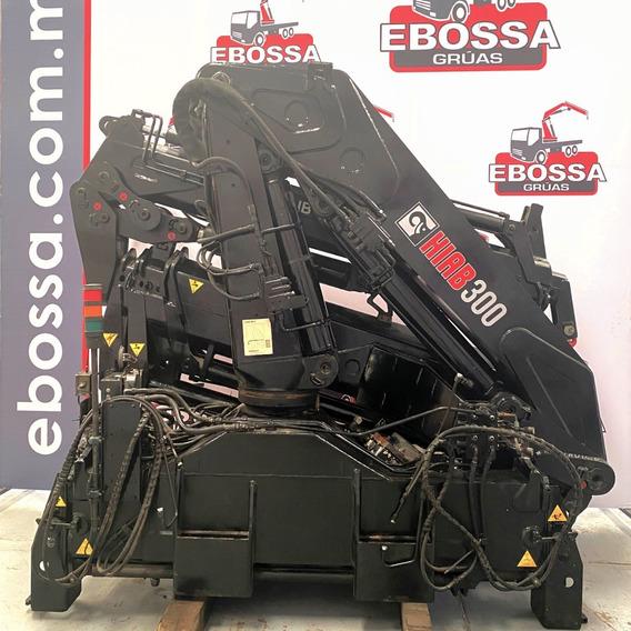 Grúa Hiab 300-4 De 12 Toneladas Control Remoto Ebossa Grúas