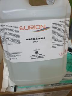 Álcool Etílico 70% Inpm 5 Litros