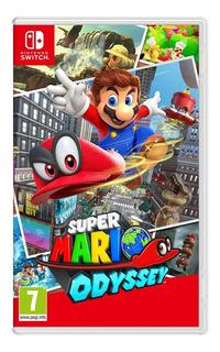 Super Mario Odyssey Nintendo Switch Nuevo Idioma Español