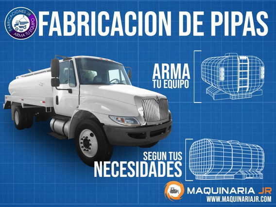 Conoce La Mejor Fabrica De Camiones De Pipas De México!