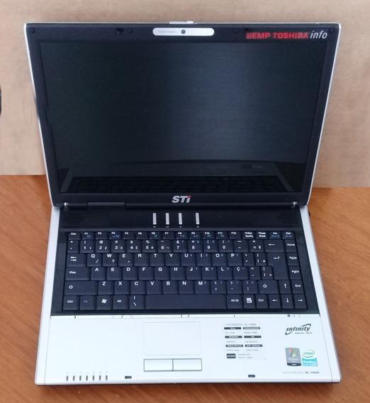 Notebook Sti Is1462 - Defeitos - Leia Descrição
