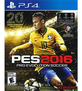 Pro Evolution Soccer 2016 Pes 2016 Playstation 4