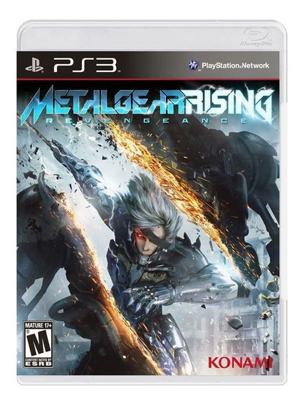 Metal Gear Rising - Ps3 - Mídia Física, Original E Lacrada
