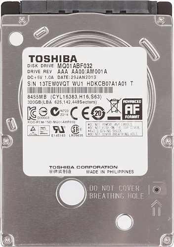 Hd 320gb Notebook - Ultrabook E Play3 7mm Novo