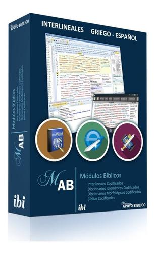 Pack 5 Modulos Interlineales Y Diccionarios Bíblicos
