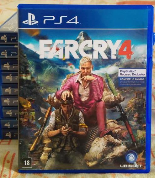 Far Cry 4 Ps4 - Jogo Mídia Física Em Português