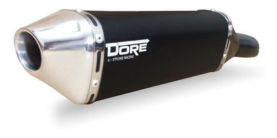 Escape Ponteira Aluminio Dore+ Curva Bros 150/160 2009 Acima