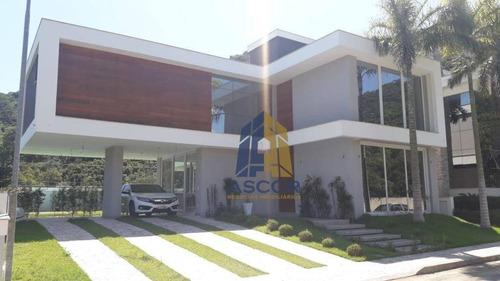 Imagem 1 de 19 de Casa Com 3 Dormitórios À Venda, 239 M² Por R$ 1.700.000,00 - Ponta Das Canas - Florianópolis/sc - Ca0285