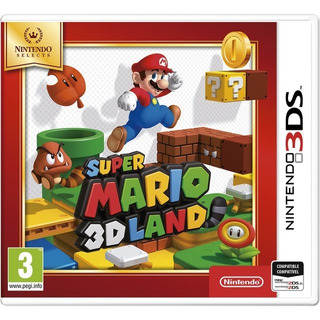 Super Mario 3d Land Nintendo 3ds 2ds Casette Nuevo Sellado