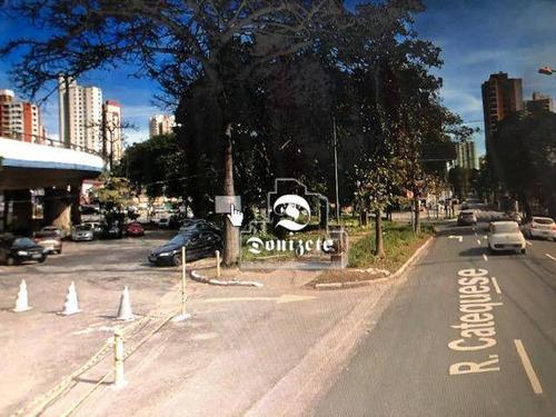 Terreno À Venda, 1200 M² Por R$ 5.000.000,00 - Jardim - Santo André/sp - Te1018