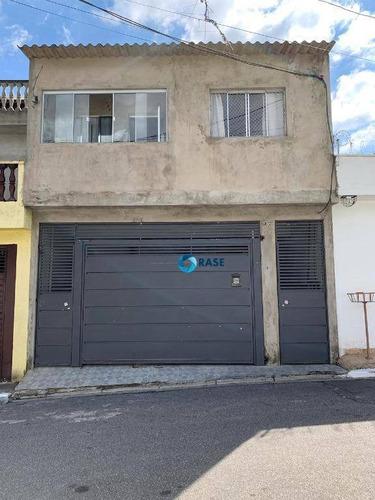 Oportunidade Investidor, Terreno Com 3 Casas Grandes, 250 M² Por R$ 350.000 - Chácara Cocaia - São Paulo/sp - Ca2209