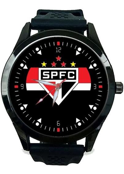 2 Relógios - Personalizado São Paulo Spfc Futebol - Kit C/2