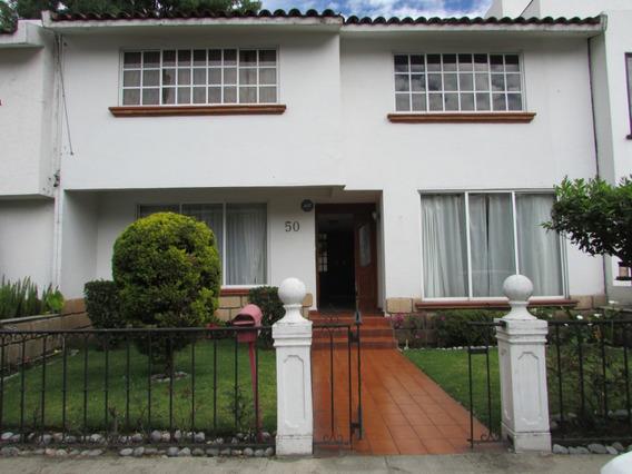 Casa En Residencial Privado Fortin Chimalistac En Coyoacan