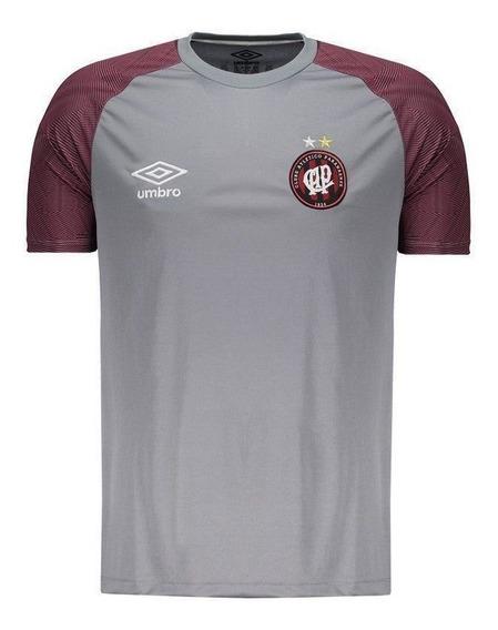 Camisa Umbro Atlético Paranaense Treino 2018 Cinza