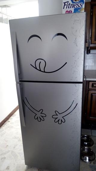 Viniles Decorativos Refri Refrigerador Carita Feliz Smile