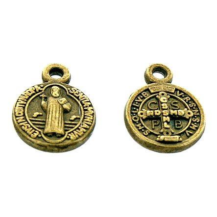 Medalla San Benito 9.5mm