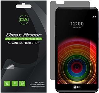 [paquete De 2] Dmax Armor- Lg X Power Privacidad Anti-spy Pr
