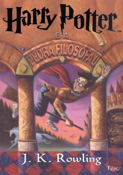 Harry Potter E A Pedra Filosofal - Brochura
